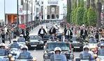 جلالة الملك عبد الله الثاني عاهل المملكة الأردنية يحل بالرباط في زيارة رسمية للمملكة