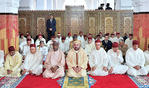 أمير المؤمنين يؤدي صلاة الجمعة بالمسجد المحمدي بالدار البيضاء