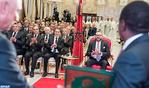 جلالة الملك يترأس بالرباط حفل التوقيع على اتفاقيتين تتعلقان بمشروع أنبوب الغاز نيجيريا- المغرب وبالتعاون المغربي- النيجيري في مجال الأسمدة