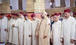 أمير المؤمنين يؤدي صلاة الجمعة بمسجد اليوسفي بالدار البيضاء