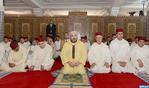 أمير المؤمنين يؤدي صلاة الجمعة بمسجد باب السلام بالدار البيضاء