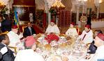 جلالة الملك يقيم بالدار البيضاء مأدبة إفطار على شرف الرئيس الرواندي