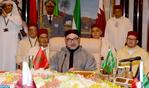 صاحب الجلالة الملك محمد السادس يلقي خطابا أمام القمة المغربية الخليجية بالرياض