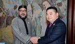"""جلالة الملك يستقبل بطنجة رئيس المجموعة الصناعية الصينية """"هيتي"""""""