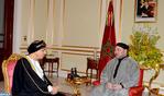 جلالة الملك يستقبل بالرياض صاحب السمو السيد فهد بن محمود آل سعيد نائب رئيس الوزراء لشؤون مجلس الوزراء بسلطنة عمان