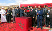 إعطاء انطلاقة بناء سد تلي بجماعة سيدي علي بإقليم الرشيدية بمناسبة الذكرى ال 63 لعيد الاستقلال