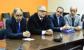 تسليم السلط بين السيدين عبد العالي بنعمور وإدريس الكراوي، الرئيس الجديد لمجلس المنافسة