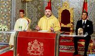 صاحب الجلالة يوجه خطابا ساميا الى الشعب المغربي بمناسبة الذكرى ال 63 لثورة الملك والشعب