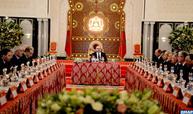 جلالة الملك يترأس بالقصر الملكي بطنجة مجلسا للوزراء