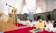 أمير المؤمنين يؤدي صلاة الجمعة بمسجد أبو عبيدة ابن الجراح بمدينة طنجة