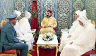 أمير المؤمنين يستقبل أعضاء الوفد الرسمي المتوجه للديار المقدسة لأداء مناسك الحج