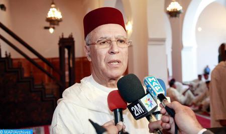 المغرب شهد بفضل توجيهات وعناية أمير المؤمنين هندسة عصرية ومحكمة ومدعومة للتبليغ تحقق حاجات الناس وتصون الدين من الاستغلال والفتن والأهواء (السيد التوفيق)