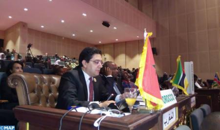 نص الخطاب الملكي الذي وجهه صاحب الجلالة إلى القمة ال 31 لرؤساء دول وحكومات الاتحاد الافريقي المنعقدة بنواكشوط