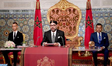 جلالة الملك يوجه خطابا ساميا إلى الأمة بمناسبة الذكرى الخامسة والستين لثورة الملك والشعب