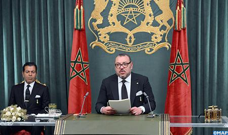 جلالة الملك يوجه خطابا ساميا إلى الأمة بمناسبة الذكرى الأربعين للمسيرة الخضراء