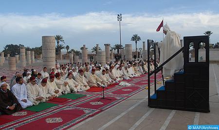إقامة صلاة الاستسقاء يوم الجمعة 5 ربيع الأول 1439هـ الموافق لـ 24 نوفمبر بمختلف جهات وأقاليم المملكة