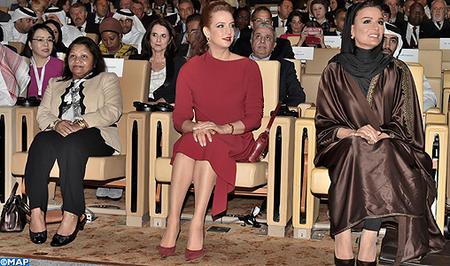 صاحبة السمو الملكي الأميرة للا سلمى تحضر افتتاح أشغال مؤتمر القمة العالمي للابتكار في الرعاية الصحية بالدوحة