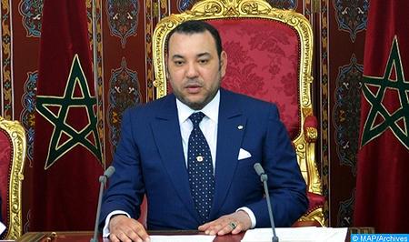 صاحب الجلالة يوجه رسالة إلى القمة ال 27 للاتحاد الإفريقي المنعقدة بكيغالي