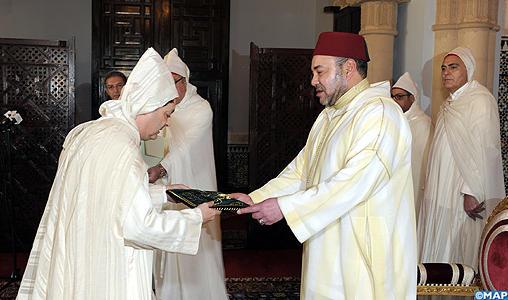 جلالة الملك يستقبل السيد محمد فاضل بنيعيش سفير المغرب الجديد بإسبانيا