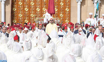 أمير المؤمنين يترأس حفل الولاء بالقصر الملكي بتطوان