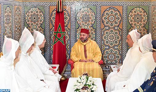 1438-2017 أمير المؤمنين يستقبل أعضاء الوفد الرسمي المتوجه للديار المقدسة لأداء مناسك الحج