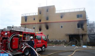 24 قتيلا في حريق باستديو للتصوير في اليابان (فرق الإطفاء)