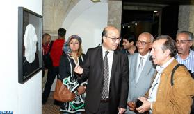 النسخة الثانية للمعرض المغربي للرسم والرشم ، تكرم الفنان سعيد مساري