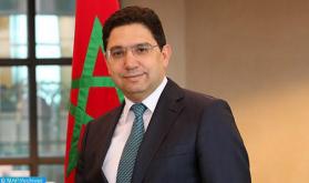 """السيد بوريطة : إنشاء مجموعة """"المتوسط العشرة"""" هو الطموح الحقيقي للمغرب للتحرر من القيود و العراقيل"""