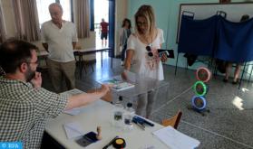 فتح مراكز الاقتراع في الانتخابات العامة في اليونان