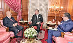HM the King Receives Government Head and Agriculture, Fisheries Minister