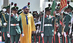 HM the King Receives Official Ceremonial Welcome in Abuja