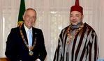 HM the King, Portuguese President Hold Tête-à-Tête Talks