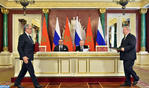 HM the King and Russian President Chair Signing Ceremony of Several Cooperation Agreements