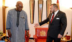 HM the King Holds Talks with Burkina-Faso's President
