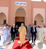 HM the King, Commander of Faithful, Performs Friday Prayer in Hassan II Mosque in Laayoune