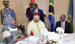 Tanzanian President Hosts Official Dinner in Honor of HM the King