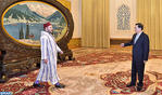 HM the King Receives Chairman of Standing Committee of National People's Congress