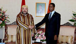 HM the King Holds Tête-à-tête Talks with Zambian President