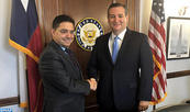 FM Meets in Washington with Eminent Members of US Senate