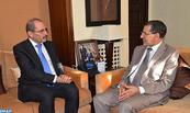 Head of Gvt, Jordanian FM discuss the means to promote trade between the two countries