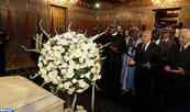 Nigerian President Visits Mohammed V Mausoleum