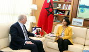 Official Meets with French Senators on New EU African Policy