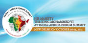 His Majesty The King Mohammed VI at India-Africa Forum Summit