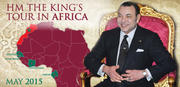 HM the King's tour in Africa May 2015