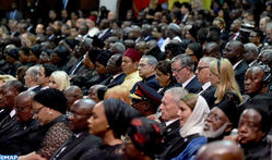 HRH Prince Moulay Rachid Represents HM the King at Funeral of Kofi Annan