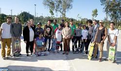 HRH Princess Lalla Hasnaa Inaugurates Rabat Hassan II Park