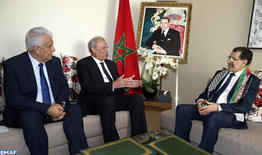 Govt. Chief Holds Talks with Palestinian Deputy PM on Means to Strengthen Bilateral Cooperation