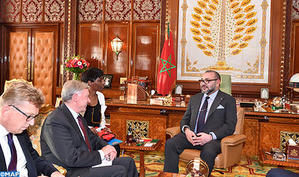 HM the King Receives UNSG Personal Envoy for Moroccan Sahara
