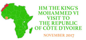 HM THE KING'S VISIT TO THE REPUBLIC OF CÔTE D'IVOIRE NOVEMBER 2017