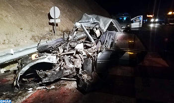 Three Killed in Road Accident on Taza-Fez Highway